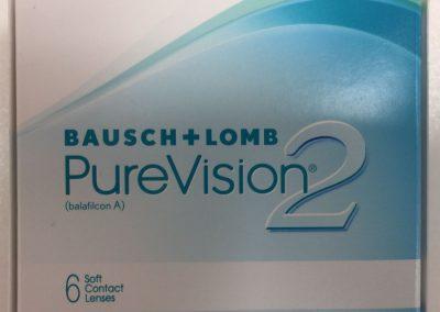Kontaktní čočky PureVision