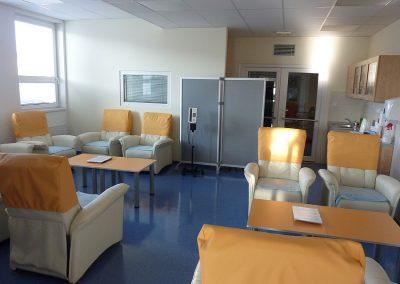 Denní  místnost pro pacienty