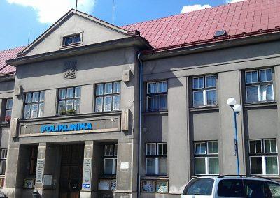 Poliklinika v Úpici