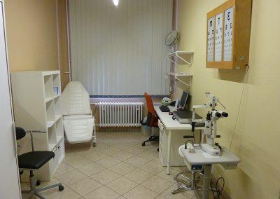 Ambulance lékaře v Úpici