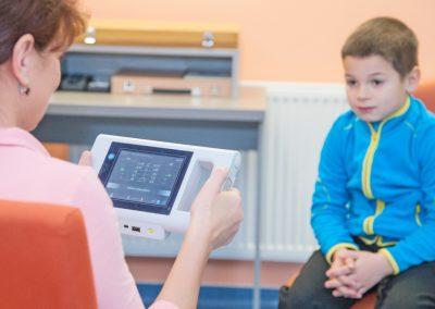 Vyšetření dítěte - Plusoptix
